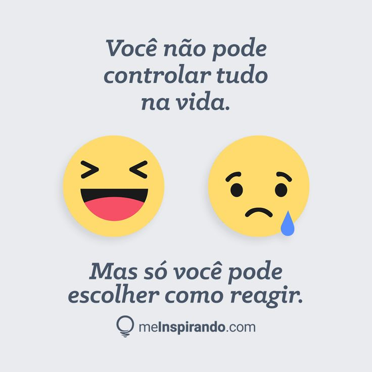 Você não pode controlar tudo na vida. Mas só você pode escolher como reagir.  ---- #meInspirando #jeansouza #geraçãodevalor #geracaodevalor #marketing #digital #marketingdigital #empreendedorismo #empreender #digitalmarketing #mindset #empreendedorismodigital #Frases #mindsetcriativo