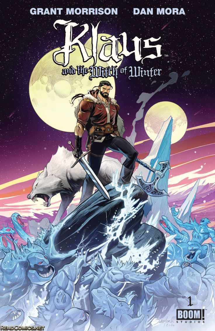Review: Klaus and the Witch of Winter