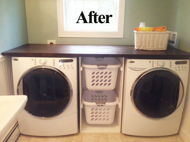 25 best ideas about washer dryer shelf on pinterest for Shelf above washer and dryer