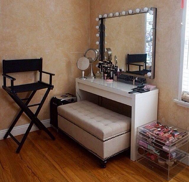 149 best Beautiful studio ideas images on Pinterest | Makeup rooms ...