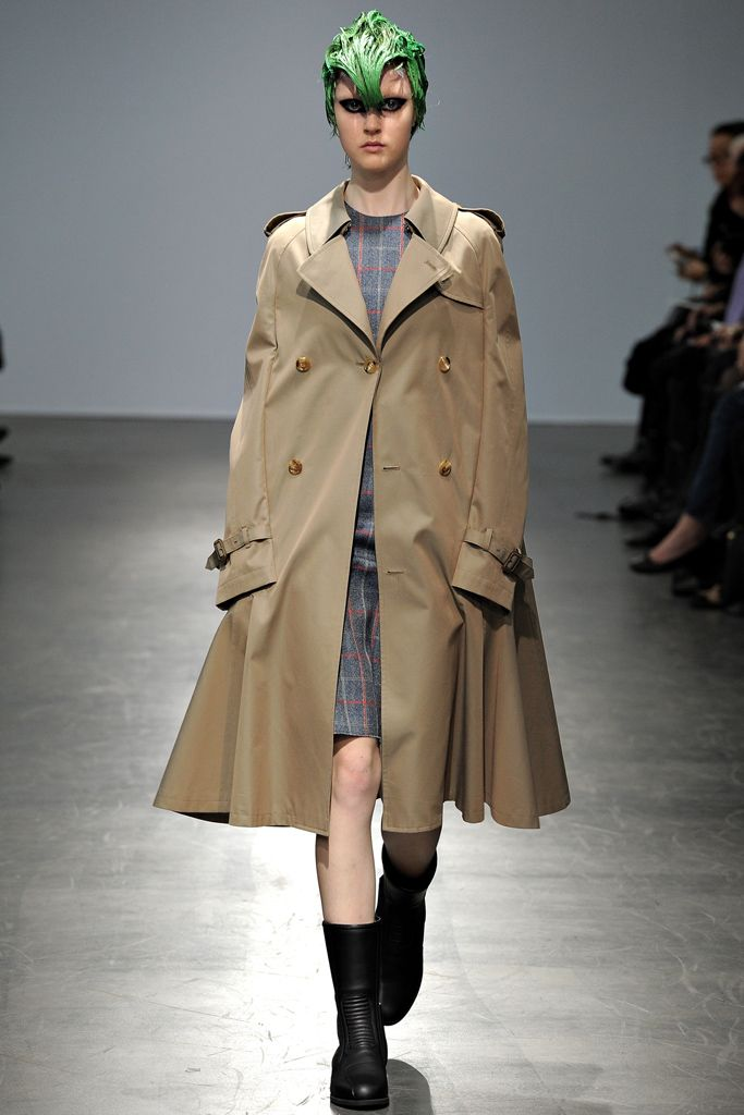Junya Watanabe Fall 2012 Ready-to-Wear Collection Slideshow on Style.com