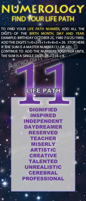 Life path number 7 dating
