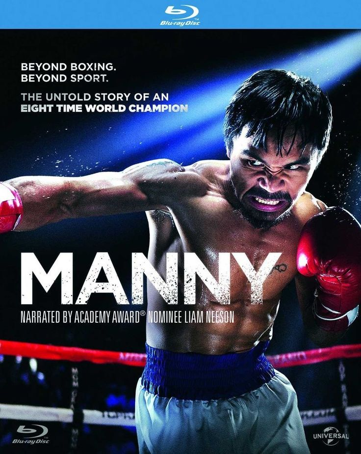 Manny [Blu-ray] [2014] [Manny Pacquiao, Mark Wahlberg, Liam Neeson]