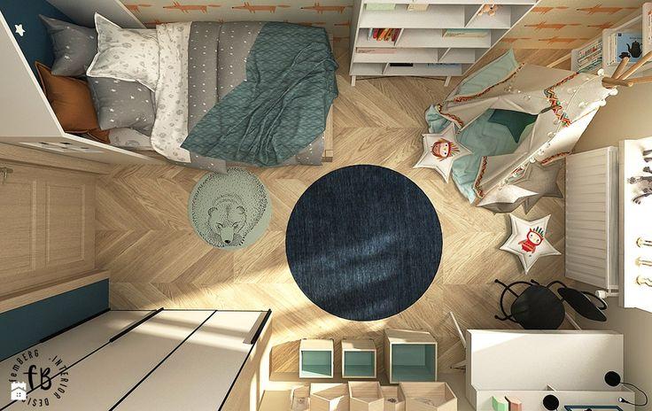 Pokój Jasia - zdjęcie od Femberg Architektura Wnętrz - Pokój dziecka - Styl Skandynawski - Femberg Architektura Wnętrz