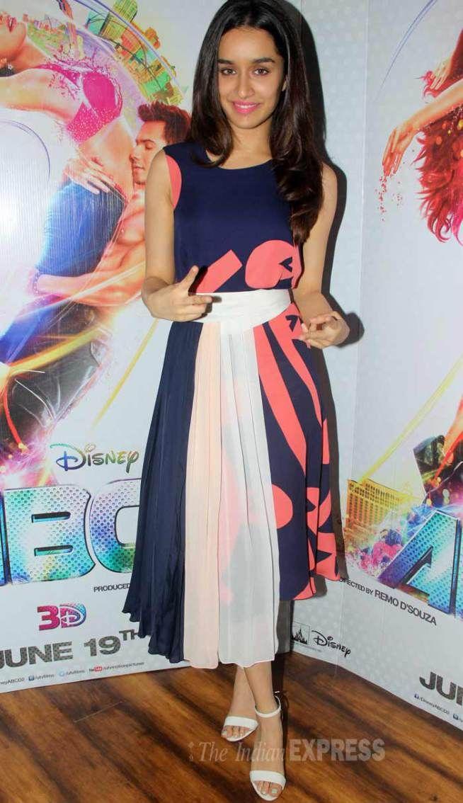 Shraddha Kapoor promoting 'ABCD 2'.