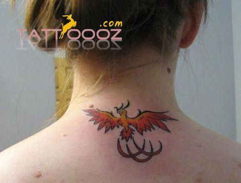 star tattoos on neck and back #Tattoosonneck