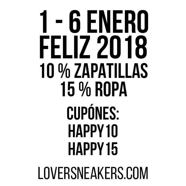 Promo Reyes  Del 1 al 6 de Enero aprovechate de un 10% de descuento en zapatillas y de un 15% en ropa On line & Shop. (Spain Envíos Gratis a Partir de 99) http://ift.tt/1iZuQ2v  #loversneakers #sneakerheads #sneakers  #kicks #zapatillas #kicksonfire #kickstagram #sneakerfreaker #nicekicks #thesneakersbox  #snkrfrkr #sneakercollector #shoeporn #igsneskercommunity #sneakernews #solecollector #wdywt #womft #sneakeraddict #kotd #smyfh #hypebeast