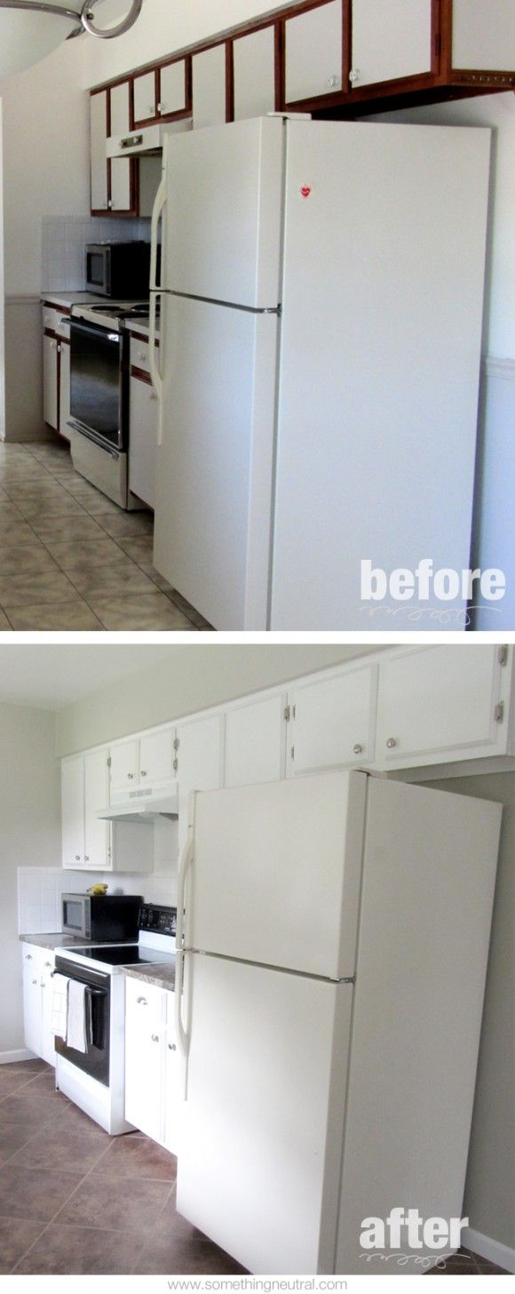 17 best images about something neutral blog on pinterest for Flooring before cabinets