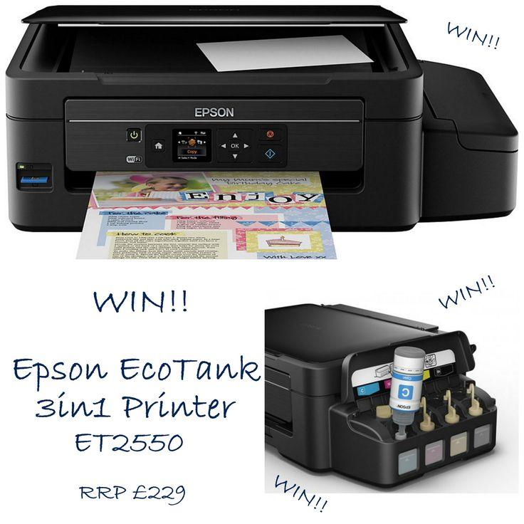 WIN Epson Eco Tank 3in1 Printer E: 12/02/2016