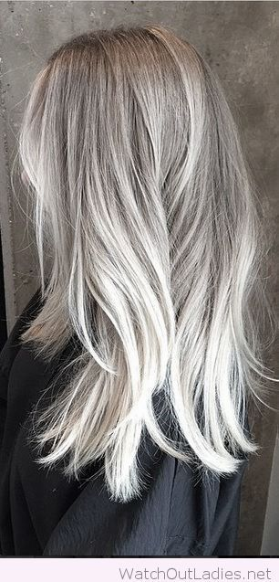 Best 25 white highlights ideas on pinterest platinum blonde lovely silver highlights pmusecretfo Choice Image