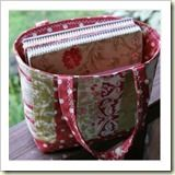 Quilted Tote from PS I Quilt   45 Awesome Free Bag Tutorials   Frugal and Thriving