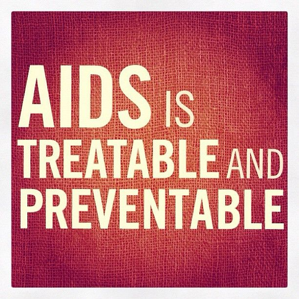 """121 Likes, 2 Comments - (RED) (@red) on Instagram: """"10 #FACTS about HIV/AIDS – #1: AIDS is treatable and preventable."""""""