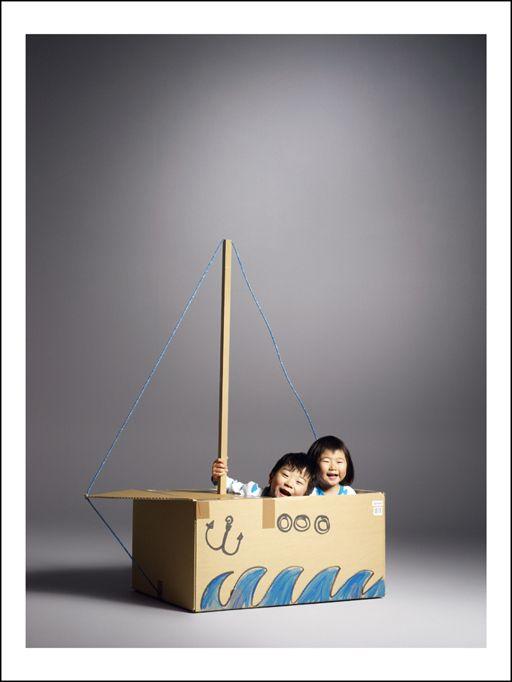 Make a DIY Sailboat.