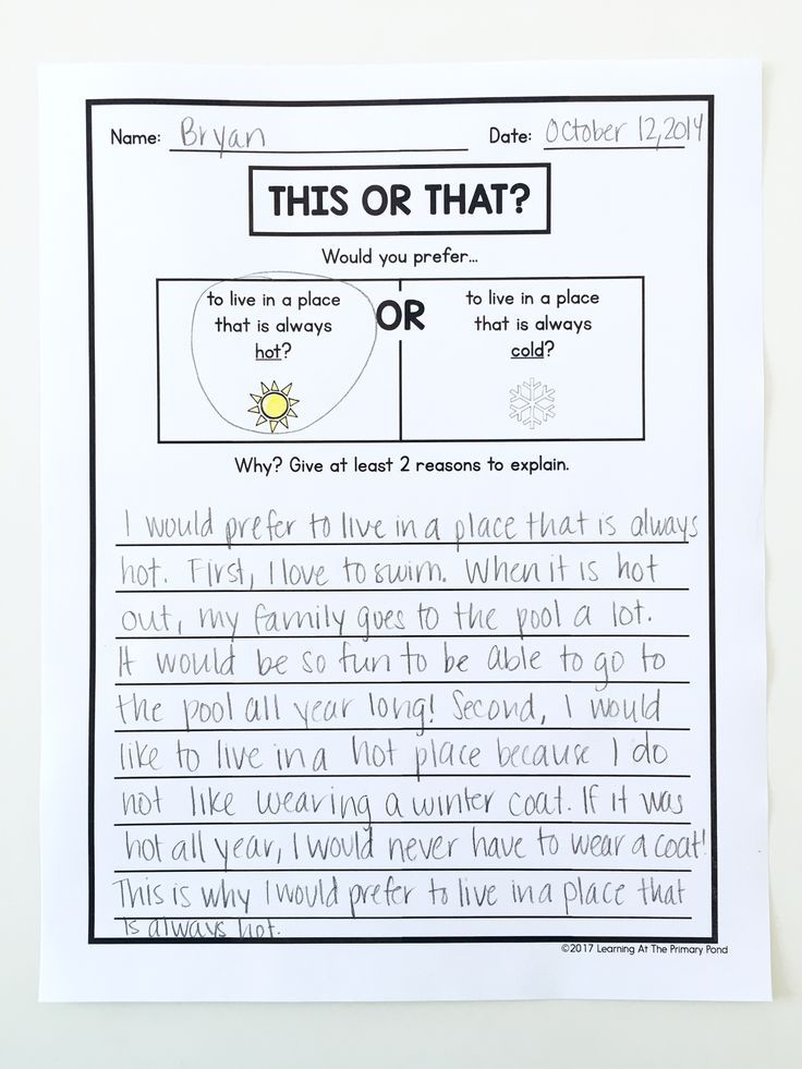 opinion writing second grade powerpoint