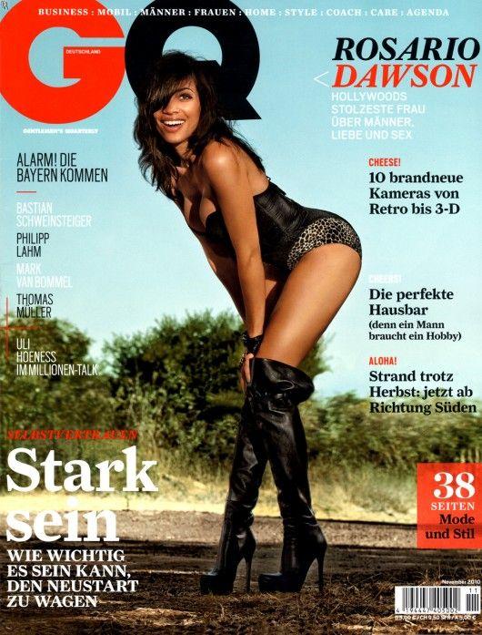 Rosario Dawson – GQ Germany Magazine (November 2010)