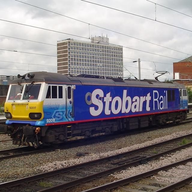 The First #ThrowbackThursday of 2017! Here we have: Bart The Engine - Registration Number: 92017 from 2009 #TBT #stobartrail #eddiestobart #stobart #train #trainspotting #transport #rail #stobartrail #travel