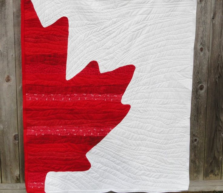 canadian flag quilts - Google Search