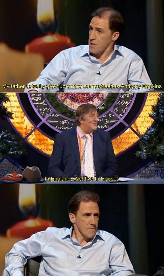 Shots Fired! I love that Rob Brydon can totally take a joke about the Welsh!