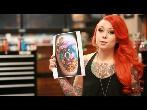 Megan Massacre's Favorite Tattoos   NY Ink - YouTube