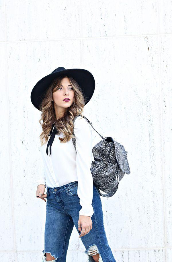Lillian's Modern Schoolgirl Style | Lauren Conrad