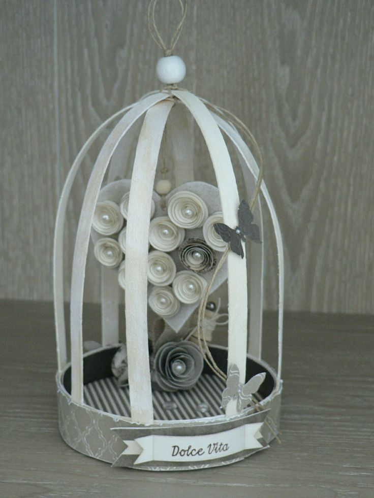 Cage oiseau 3d deco pinterest oiseaux cage for Cage a oiseaux deco