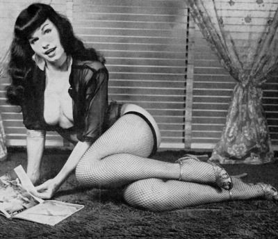 Assured, bettie page tumblr something also