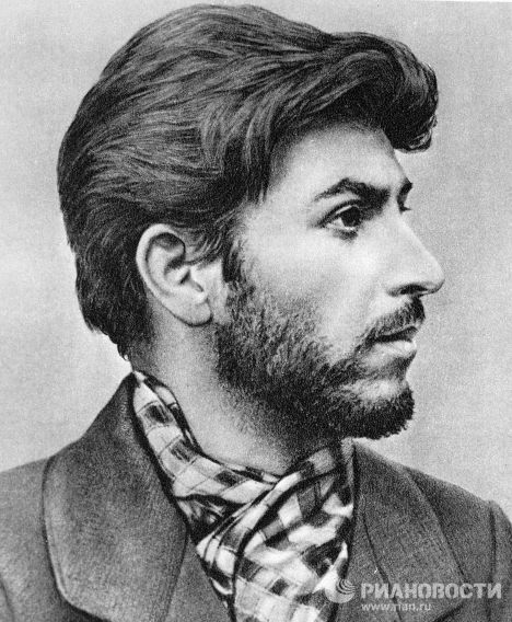 Young Joseph Stalin Handsome Young revolutionary St...