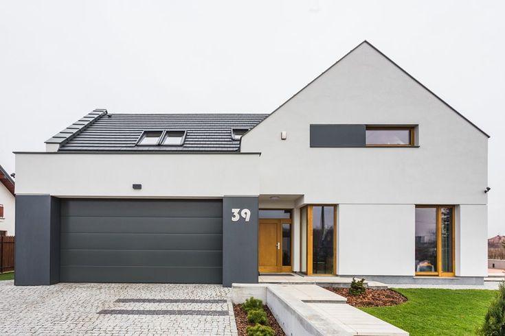 Minimalistyczny dom jednorodzinny - Architektura, wnętrza, technologia, design - HomeSquare