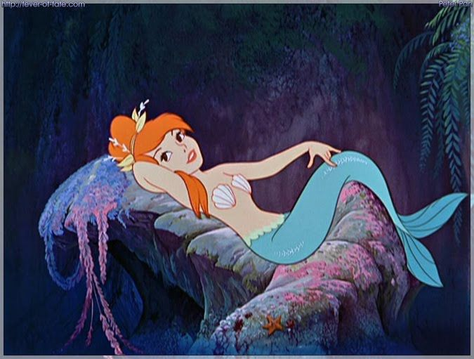 """We were only trying to drown her"" - Peter Pan mermaid"