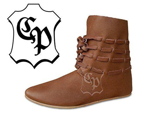 Hochmittelalter Halbstiefel Mittelalter Schuhe Stiefel LARP - http://on-line-kaufen.de/cp-schuhe/hochmittelalter-halbstiefel-mittelalter-larp