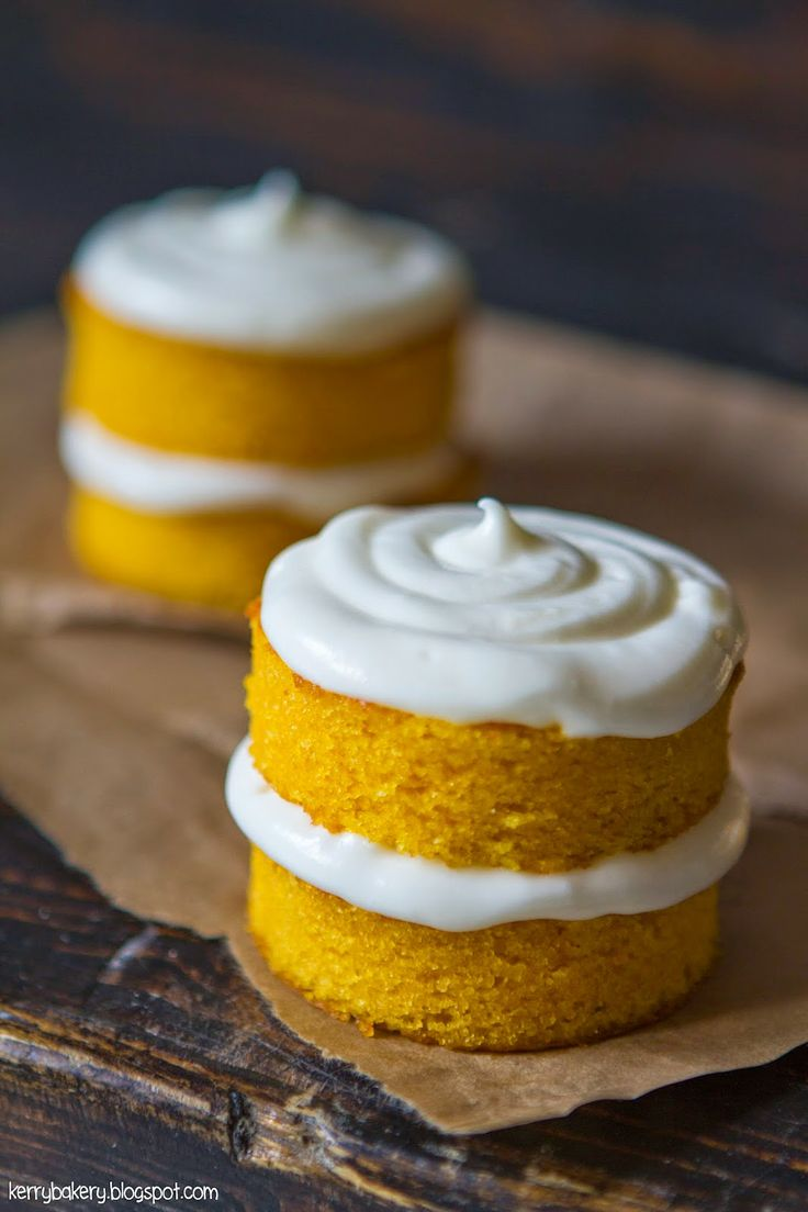 Kerry's Bakery: MINI CARROT CAKE WITH PHILADELPHIA FROSTING