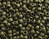 Toho Seed Beads 15/0 Matte-Colour Dark Olive (617) 5g/10g/20g/30g