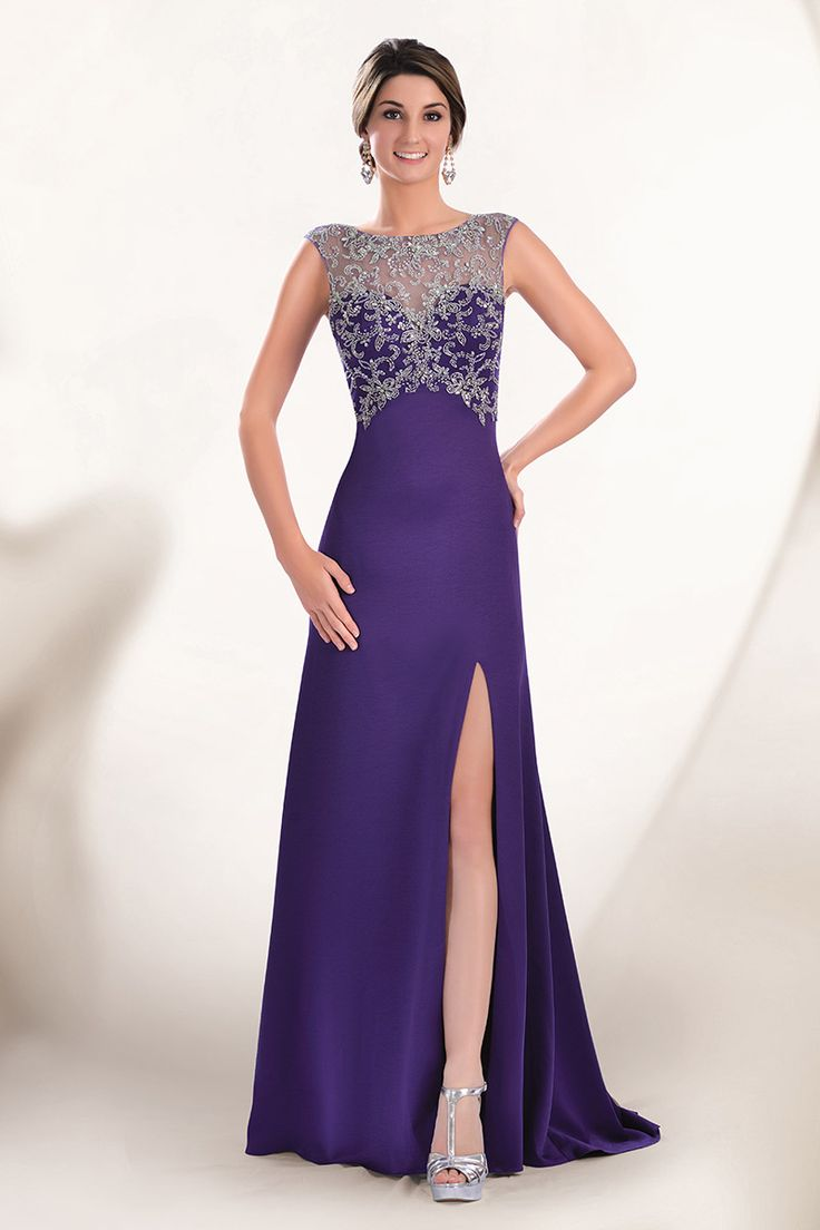 47 best vestidos de fiesta images on Pinterest | Evening gowns ...