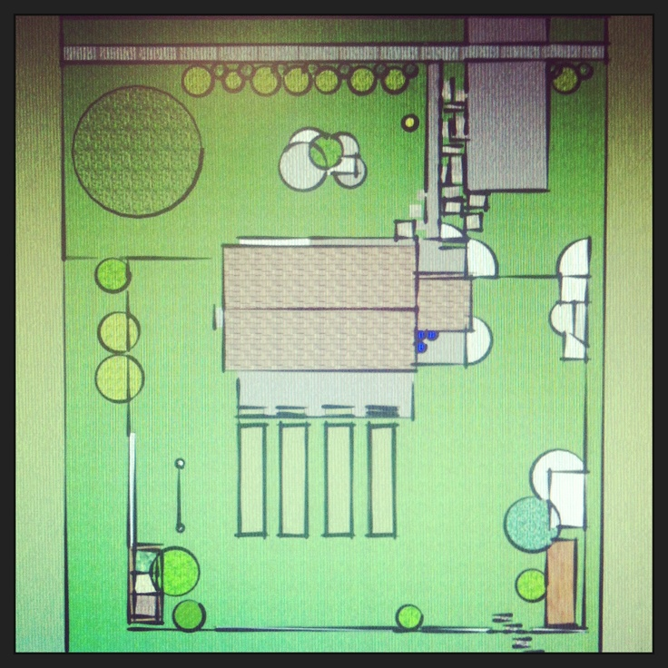 Spring 2013 landscape/garden/compost/chicken coop plan.  This was drawn up on sketchup