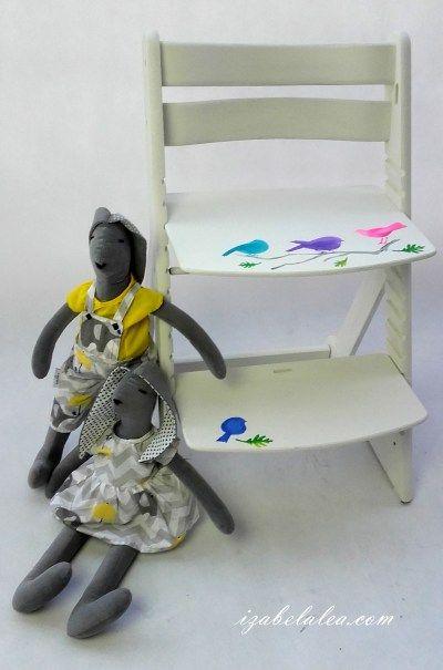 Odnawianie mebli dla dziecka - Izabela Lea eS.