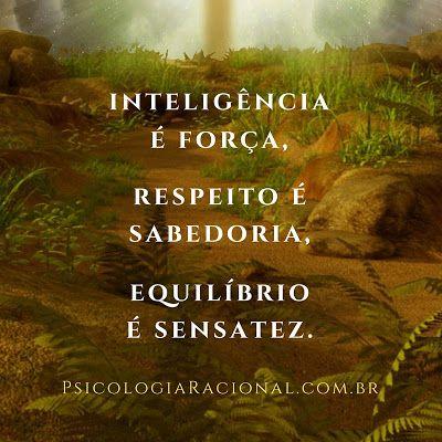 Direitos Humanos inteligência é força, respeito é sabedoria, equilíbrio é sensatez.