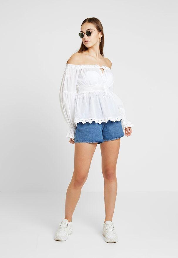 CRISPY BOHO BLOUSE Bluzka white @ Zalando.pl </p>      </div>     </div> </div>   <div class=