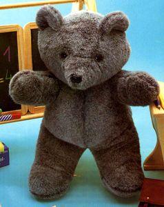 patron ours en peluche                                                                                                                                                     Plus