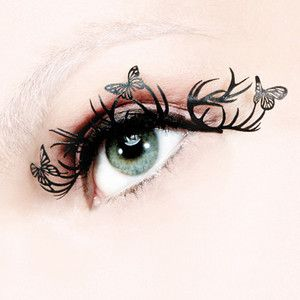Deer & Butterfly Lashes Full by Paperself £10 on Fab