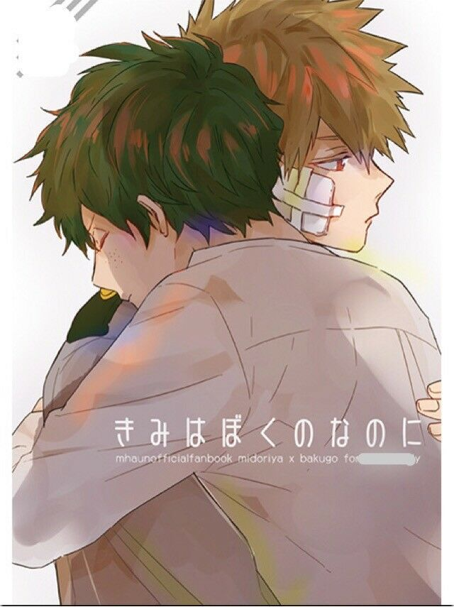 fabd7dd5 My Hero Academia YAOI Doujinshi ( Midoriya x Bakugo) Anime English bakugou  | eBay