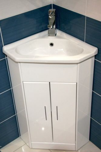 Corner Bathroom Sink Cabinet : , Cabinets Basin, Bathroom Furniture, Sinks Cabinets, Compact Corner ...