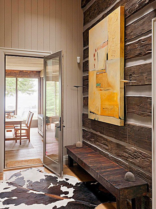 Blend Rustic And Modern