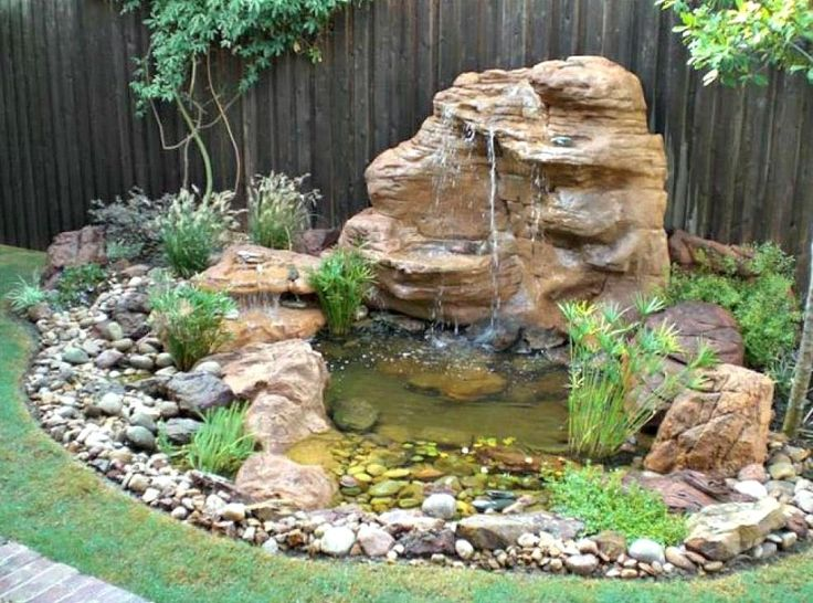 Pond Waterfall Kit with Led Lights — Pond Design
