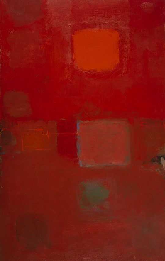 Heron, Patrick - Square Sun, January 1959 - Abstract Expressionism - Abstract - Oil on canvas