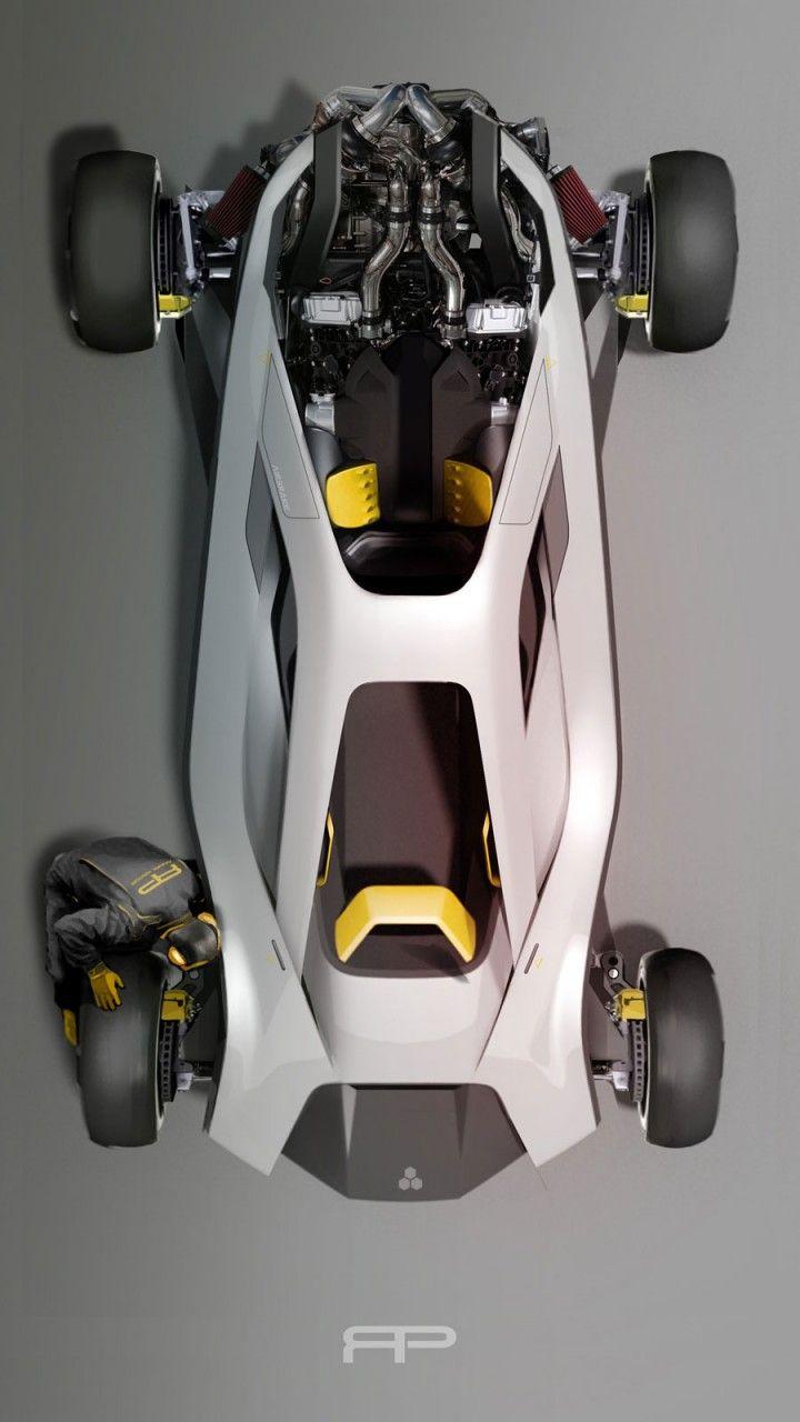 RCA Vehicle Design Lab 2015 - Concept Design Render by Richard Price - Car Body Design