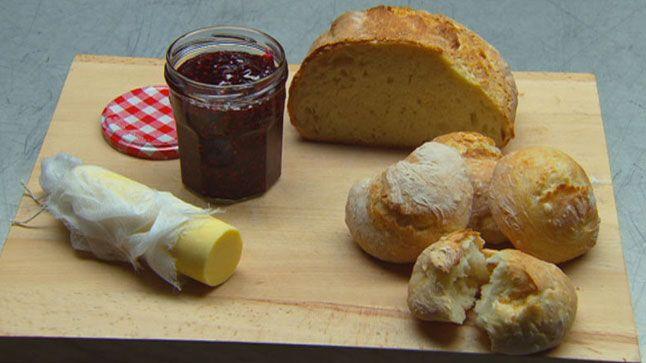 Pain, beurre et confiture de framboise | MasterChef Australie 5 | CASA
