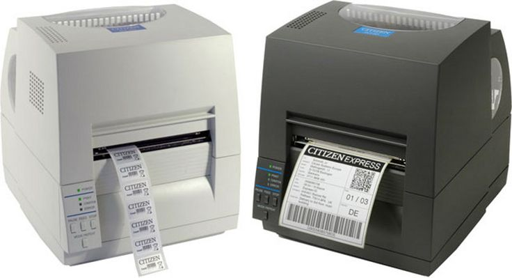 CITIZEN CLS621 Thermal Transfer Label Printer black