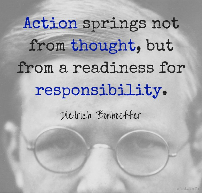 dietrich bonhoeffer a pastors response to Though some of his admirers may find it difficult to believe now, dietrich bonhoeffer was not widely known in the years immediately following world war ii, save perhaps as one of a band of courageous pastors and theologians in germany who resisted the nazi regime of adolf hitler his relative.