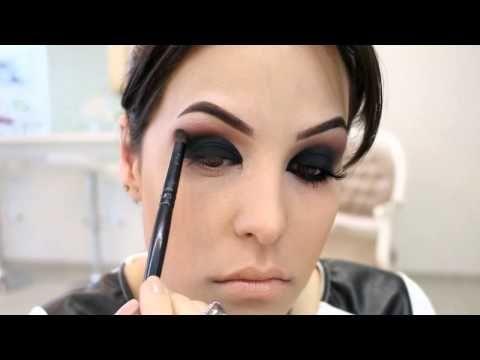 Bruna Malheiros Makeup » Blog Archive » Maquiagem Olho Preto Esfumado