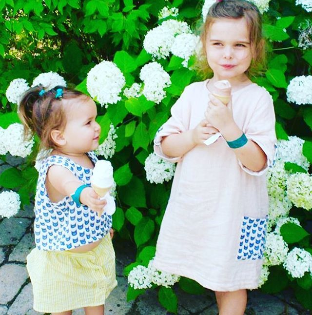 These two little ladies just killing it!  We might have this sisters' outfit still available in shop. Psst... And it's on SALE... 📷@lazymoms #danandk #matching